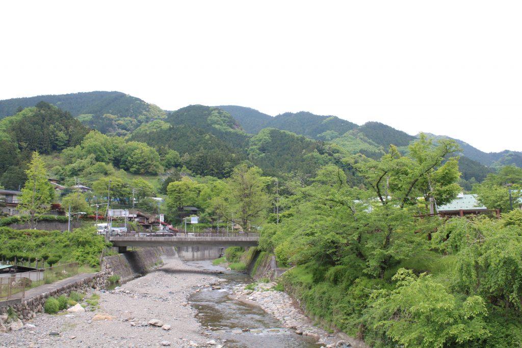 道の駅芦ヶ久保の荒川水系