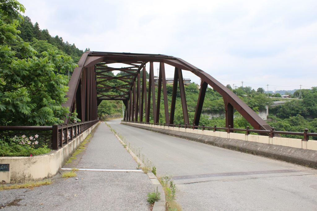 浦山ダム下流の橋