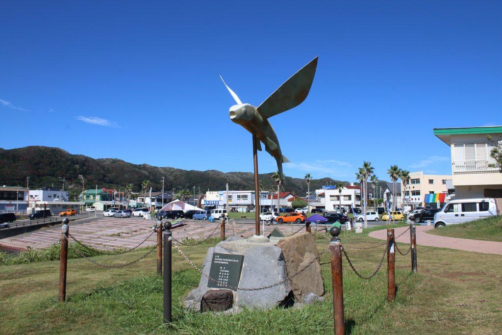 野島崎のトビウオ