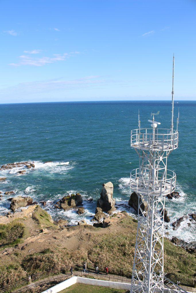 犬吠埼灯台から東側を望む(2020年11月)