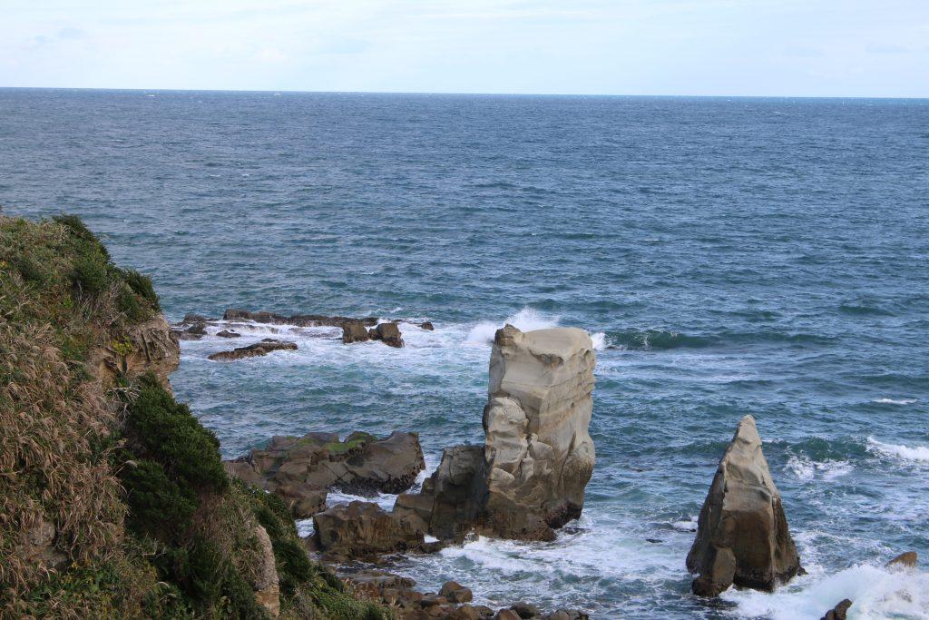 犬吠埼のフクロウ岩(2020年11月)