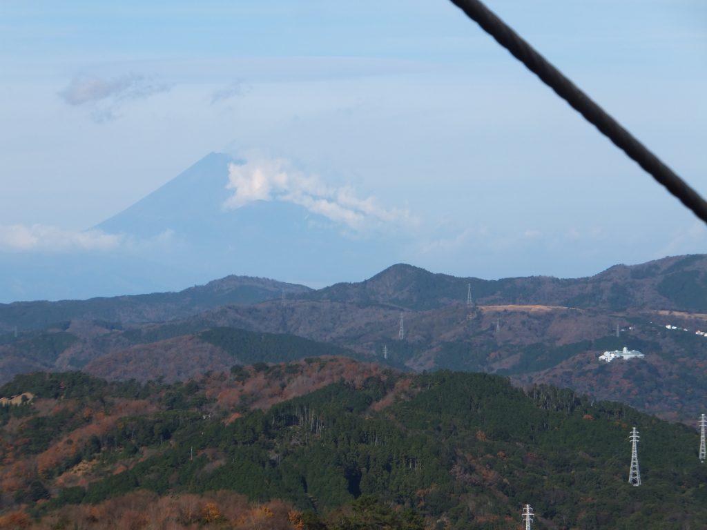 大室山リフトから富士山を望む(2020年12月)