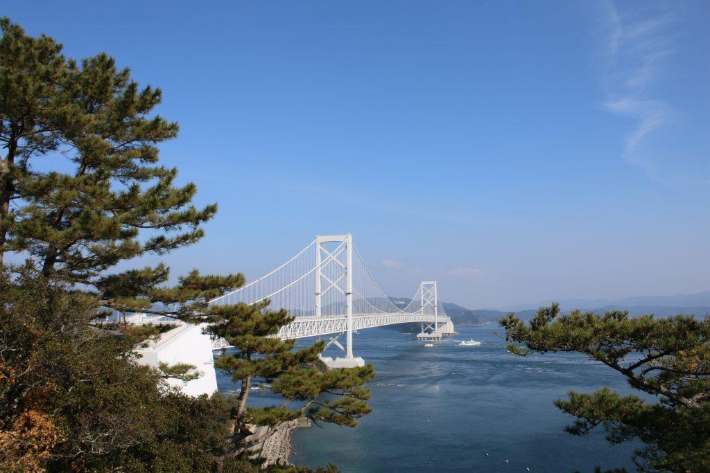 鳴門大橋全景(2020年12月)