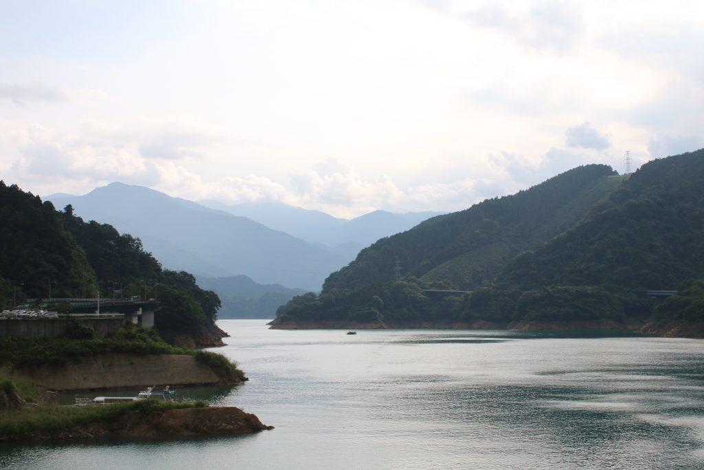 宮ケ瀬湖の風景(2020年8月)