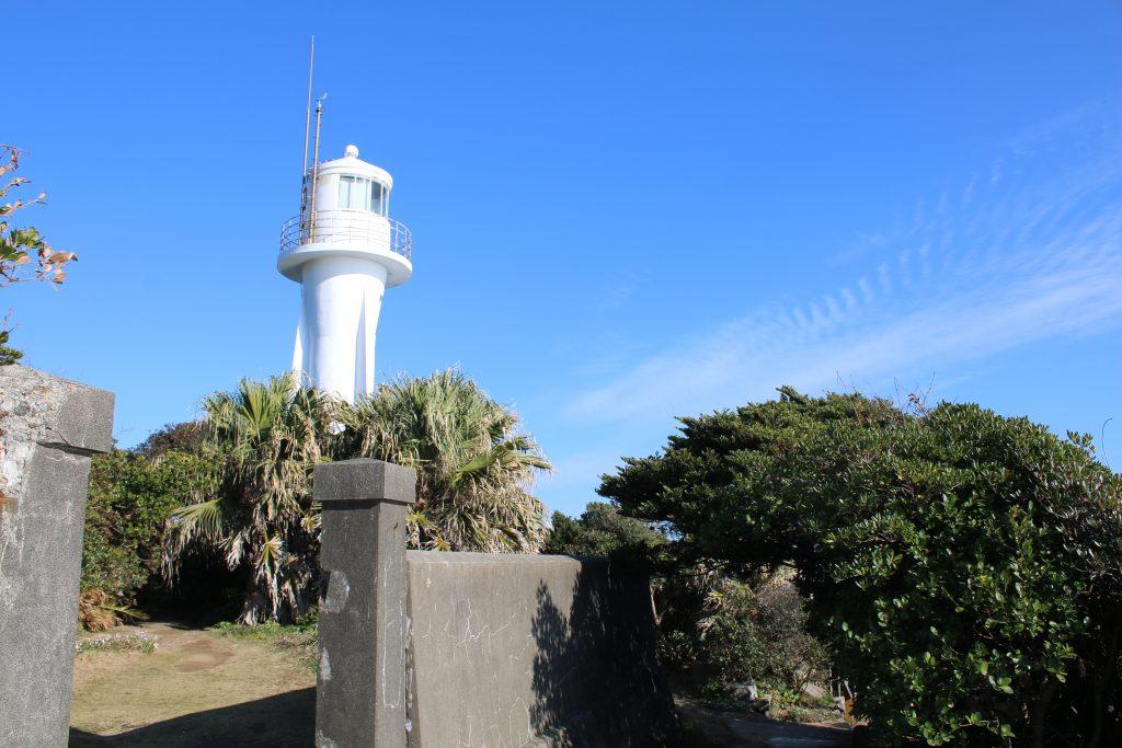 足摺岬灯台全景(2020年12月)