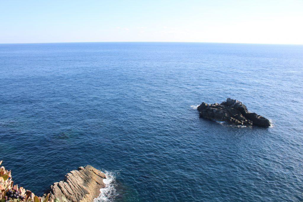 足摺岬から南を望む(2020年12月)