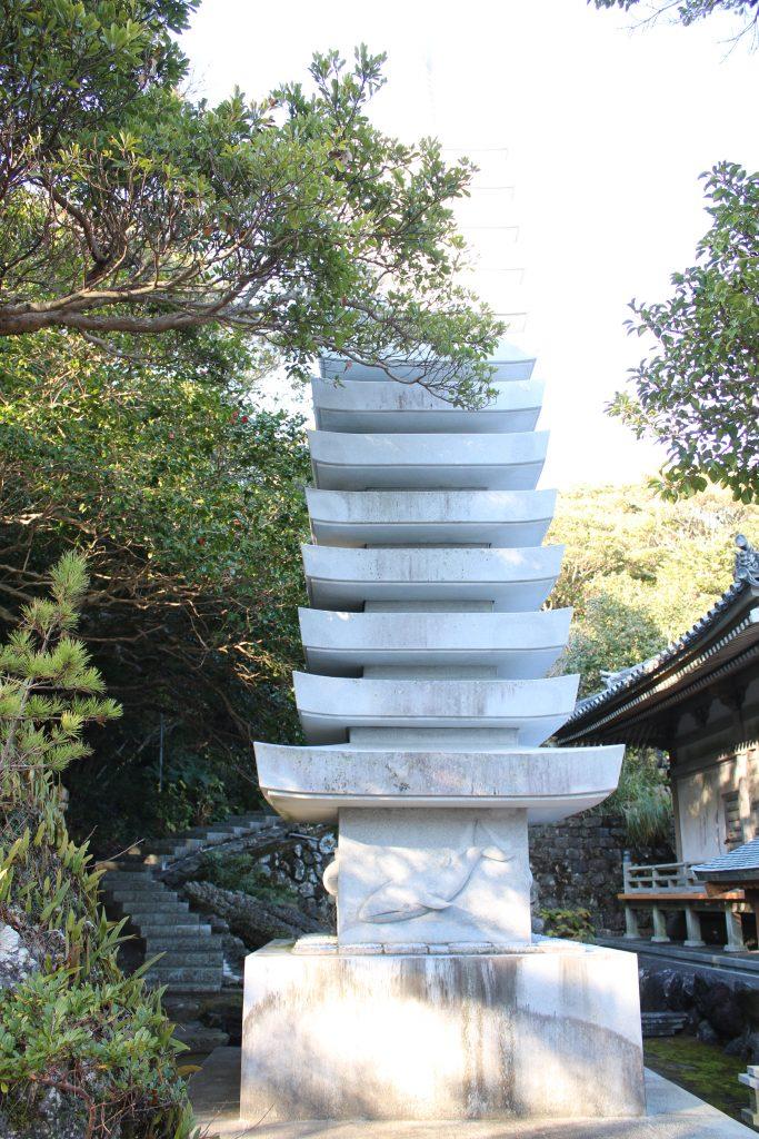 金剛福寺のクジラ塚(2020年12月)