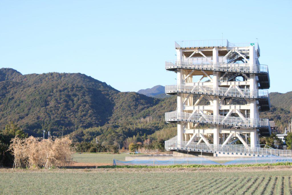 大岐の津波避難タワー(2020年12月)
