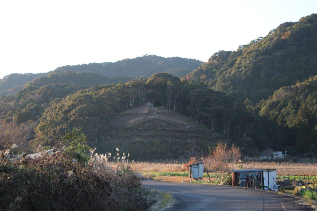 中村の大文字山(2020年12月)