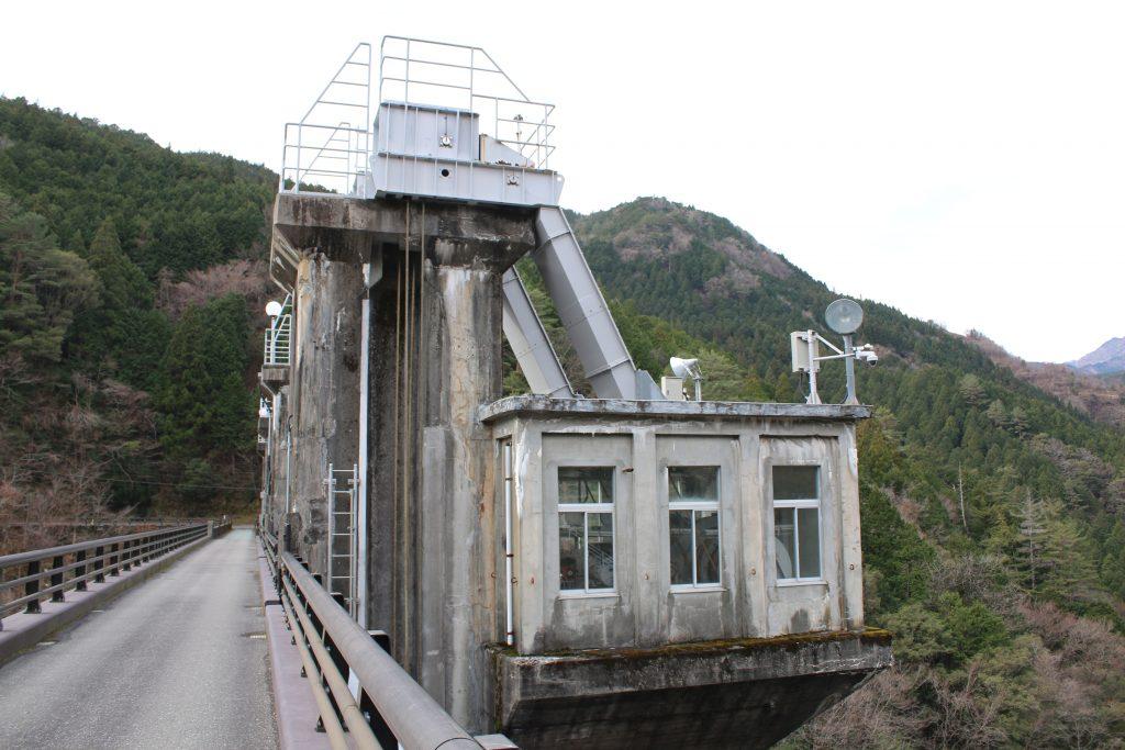 大橋ダムの機械室(2020年12月)