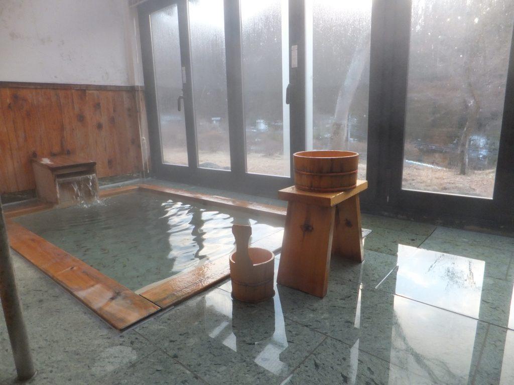 錦綉山荘の温泉(2021年2月)