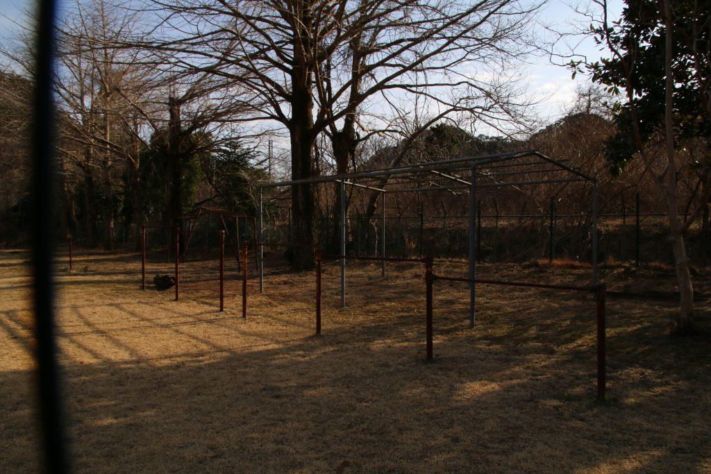 香木原小学校の面影(2021年2月)