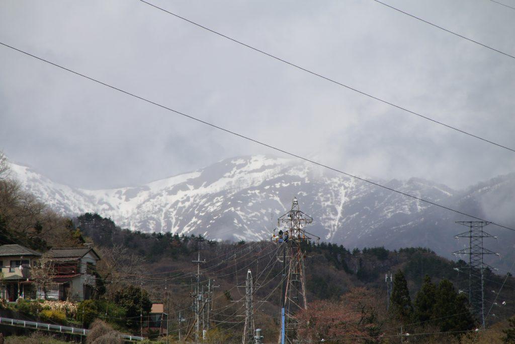 谷川岳の西側(2021年4月)