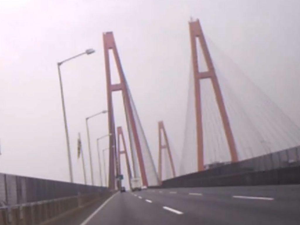 名港西大橋の4A(2021年5月)