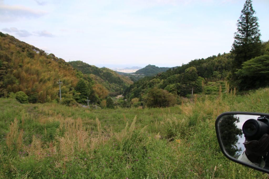 高知県道33号線の風景(2021年4月)