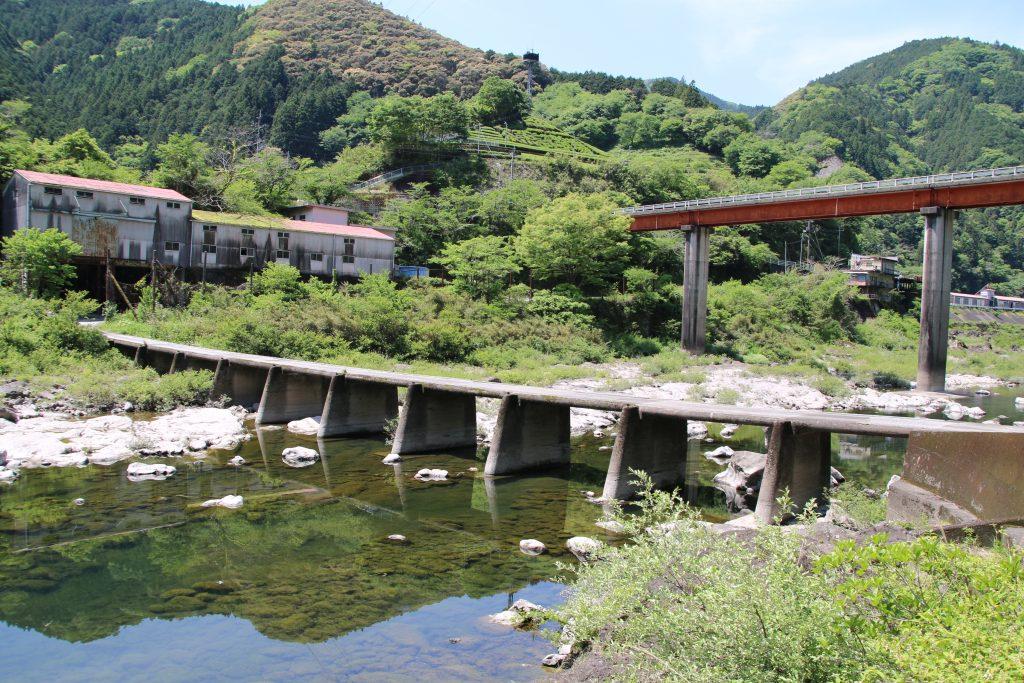 仁淀川の沈下橋('大森橋)(2021年5月)