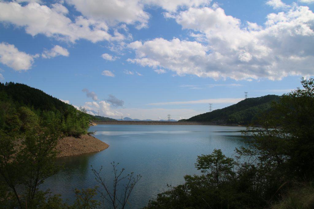 大菩薩湖展望台からの風景(2021年5月)