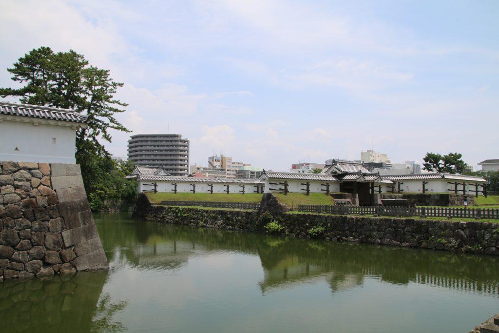 小田原城の馬出門枡形(2021年7月)