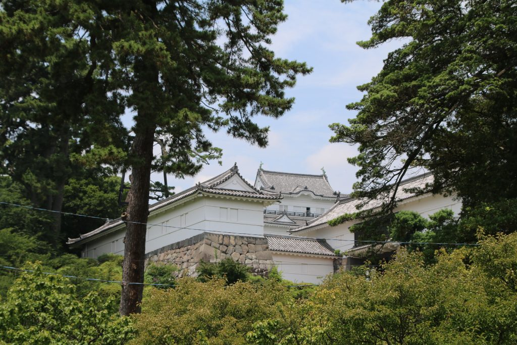 小田原城の威容(2021年7月)